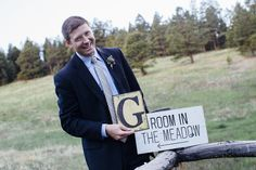 Rustic Weed Wedding Love and Marij - Maria & Eric - May 30, 2015 — Real Events #groom