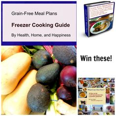 Win Grain-Free Meal Plans, eBooks, and More!