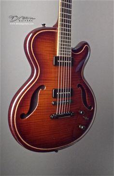 Hollowbody electric guitar