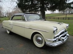 '54 Packard Pacific. Apparently only 1,189 built ... and the last of the Packard straight eights.