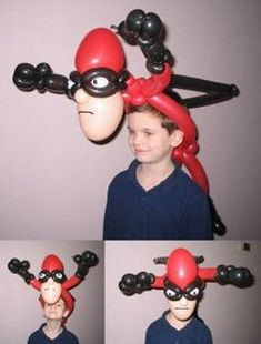 How to make balloon characters