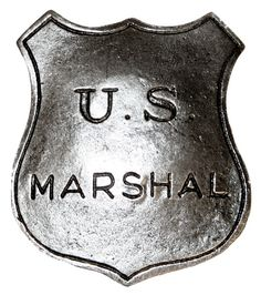 Old West Badge - US Marshal [001311W]