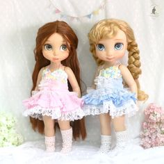 Pink or Blue ***** Doll clothes for Disney animator dolls 16. Doll , sock and accessories not included. :)