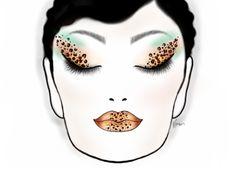 Enkore Makeup Face Chart App