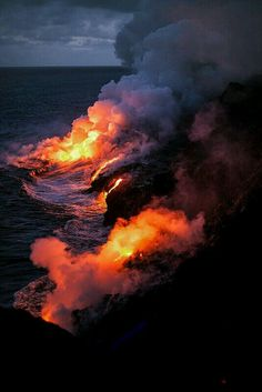 Volcano national park, Hawaii USA