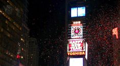 New Years from the top of Times Square. Times Square, Broadway Shows, Top, Crop Shirt, Shirts