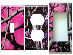 Muddy Girl Moon Shine Camo Light Switch/Outlet Covers