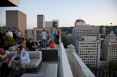 Downtown Portland's 10 best happy hours: The outdoor patio at Departure, 15 floors above the city | OregonLive.com