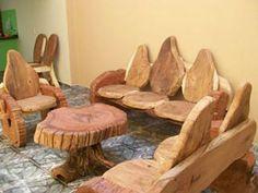 moveis rusticos de madeira - Pesquisa Google