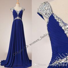 Discount Chiffon Dresses V Neck Crystal Backless Custom Made Wedding Party Dress Bridesmaid Dress Long Prom Dresses Plus Size Dress Formal Dress C89 Online with $118.33/Piece | DHgate