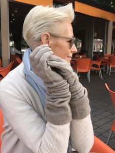 Cashmere Gloves - Mink