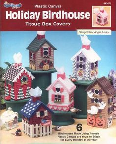 Holiday Birdhouse - 1/16