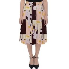 Tribal Geo Neapolitan Midi Skirt Unique Colors, Geo, Creative Design, Midi Skirt, Dress Up, Turtle Neck, Chic, Skirts, Fabric