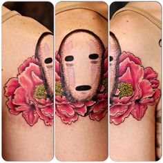 Custom Spirited Away Tattoo by Joshua Doyon (IG: @InkedUpGing)