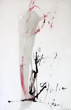 Jean Degottex - Japanese Corner - 1961 - Galerie Bert