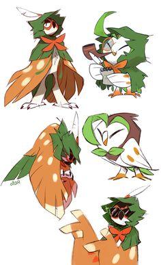 Decidueye Pokemon, Pokemon Moon, Pokemon Comics, Pokemon Funny, Pokemon Memes, Pokemon Fan Art, Pokemon Stuff, Digimon, Pokemon Crossover