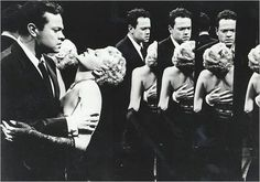 "A big and unlucky love story, in real-life as on screen: Orson Welles and Rita Hayworth in ""The Lady from Shanghai"" (1947) by Orson Welles."