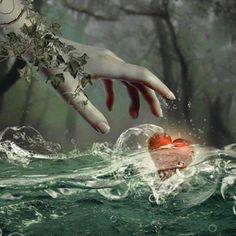 Solo la propia naturaleza sabe lo que significa tu amor para mí... tan solo tú, sabes lo que protejo nuestro amor...