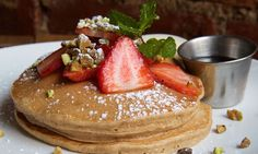 Coconut and Quinoa Pancakes Make the Perfect Healthy Stack | Extra Crispy
