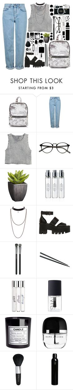 """Outfit 225"" by holass ❤ liked on Polyvore featuring Topshop, H&M, Crate and Barrel, Byredo, Windsor Smith, MAC Cosmetics, philosophy, NARS Cosmetics, Isadora and Oribe"