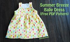 Free pattern: Summer Breeze Baby Dress
