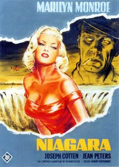 Niagara   Italian movie poster, 1953
