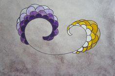 Julia e Thiago é um quadro em acrílico sobre papel de pequeno formato criada especialmente por encomenda para um presente de casamento.