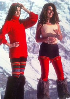 1976 Apres Ski - Great boots and leggings!