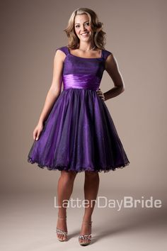 Bridesmaid & Prom, Tasha | LatterDayBride & Prom -Modest Mormon LDS Prom Dress