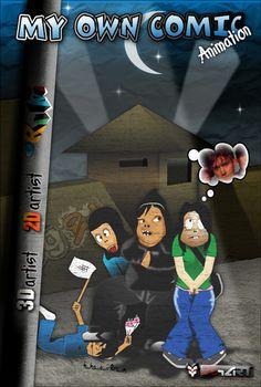 My Own Comic Cover   Ryogart
