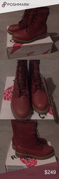 Red Wings Boots Shoes 815 size 8E2 NEW