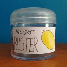 Prepare a Homemade Age Spot Remover | Guidecentral