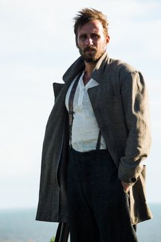 Gabriel Oak - Matthias Schoenaerts in Far from the Madding Crowd, set in Victorian England (2015).