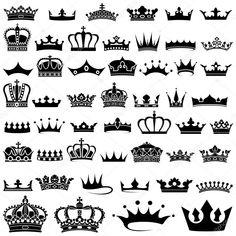 Baixar - Coleção de coroa — Ilustração de Stock #24462731