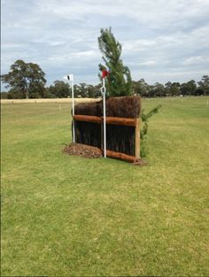 Fancy jumping this? It's a fence on the four-star cross-country course at Adelaide Horse Trials. View the whole course at http://www.horseandhound.co.uk/features/cross-country-adelaide-horse-trials-pictures/#ZSOSqo1bSfeU5XYX.99 #eventing #cross-country #adelaide