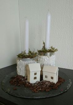 Nog even op de valreep voor drie koningen een paar foto's van hoe ik mijn kerststukjes ombouw naar winterstukjes. In dit artikel kan je lezen waar ik mijn winterdecoratie in de uitverkoop kocht. Di...