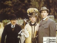 "Costumes from the movie ""The Private Life of Sherlock Holmes"" realised by Billy Wilder in 1970"