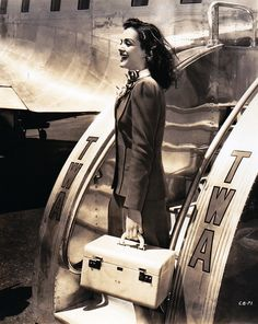 twa fly girl...