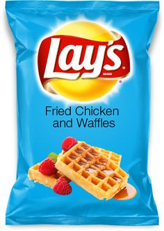 Vote for my new Lay's chip flavor: Fried Chicken and Waffles