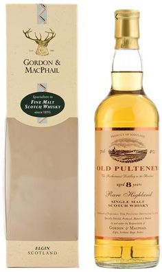 Old Pulteney 8y Gordon & MacPhail 40% #itaste #ilike #ibfest Again, a fine selection. Young yet surprisingly funky flavors. Light, black-blended smell. Very fruity hints developing. Not much going on afterwards. A nice dram to kick of a summer evening...      8 YEARS OLD, STRENGTH 40%