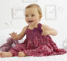 Catálgo ropa bebé Vestidos de fiesta de niña Vertbaudet.