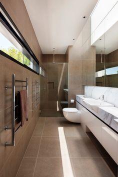Mary St Residence modern-bathroom