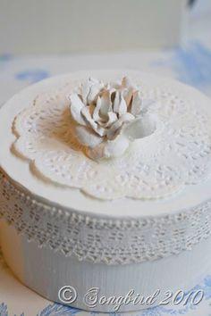 Making plaster flowers