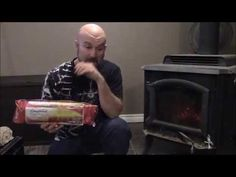 FREE HEAT FOREVER! (DIY) - YouTube  Homemade Fire logs from junk mail!
