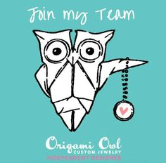 Join My Origami Owl Team for Free  Contact Me for Details!     www.owllockets.com