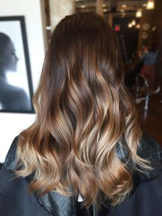 Balayage brunette blonde. Bronde. Hair by @rebeccal.hair