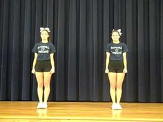 Cockrill Cheer Band Dances - YouTube