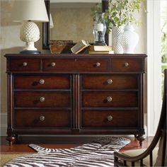 British Colonial - Dresser in Caribe - 020-63-05 - Stanley Furniture - dresser - bedroom