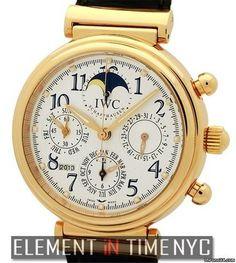 IWC Da Vinci Collection Da Vinci Perpetual Calendar Chronograph 18k Rose Gold IW3785-11 New York NY US - JamesEdition.com