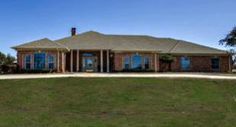 *** S O L D ***   Exceptional Farm and Ranch Property North of Decatur. Motivated Seller. Exquisite 38.5 acre ranch (adjoins LBJ Grasslands) with lovely 3,055 sq ft brick home with amazing features such as an incredible back porch deck and amazing separate enclosed hexagonal game room with fireplace. Many other upgrades.